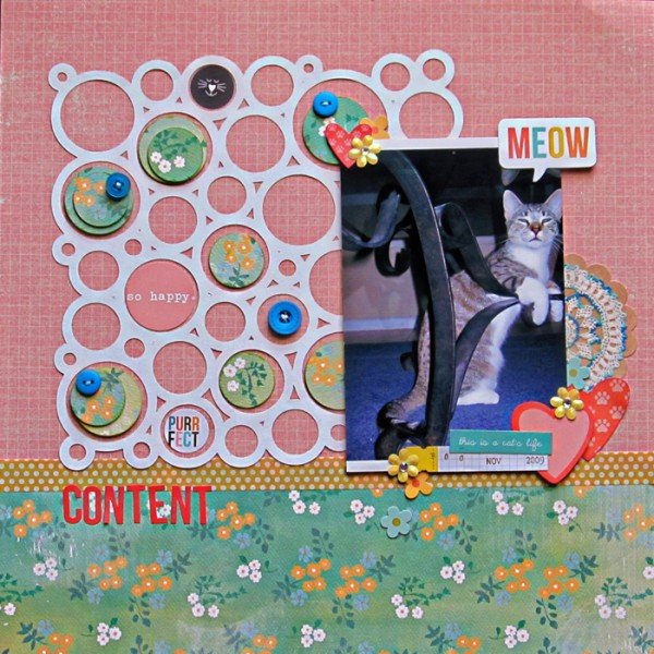 Ideas for Composing Within the Negative Space of Your Die Cuts  | Christy Strickler | Get It Scrapped