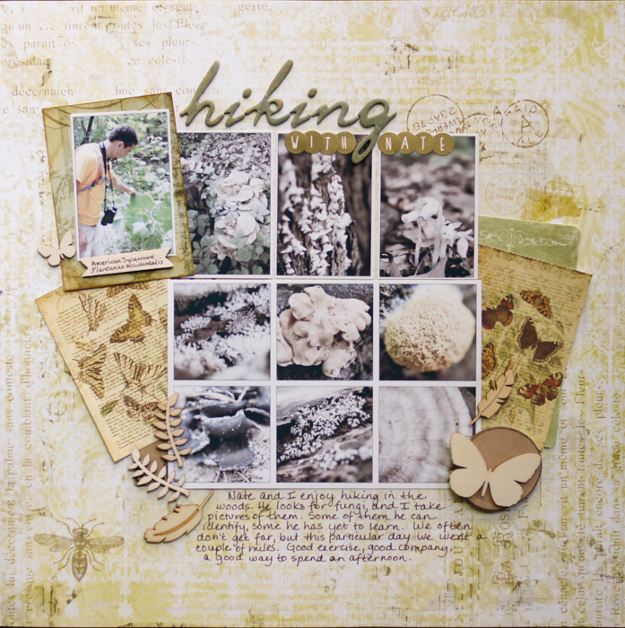 Ideas for Scrapbook Page Storytelling with a Curated Natural History Style | Marcia Fortunato | Get It Scrapped