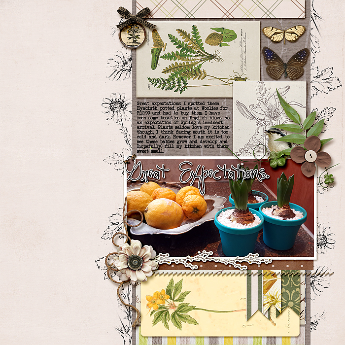 Ideas for Scrapbook Page Storytelling with a Curated Natural History Style | Stefanie Semple | Get It Scrapped
