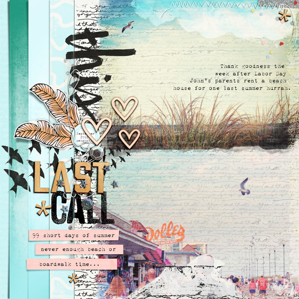 Ideas for Scrapbooking the Ways You Hold Onto Summer | Carrie Arick | Get It Scrapped
