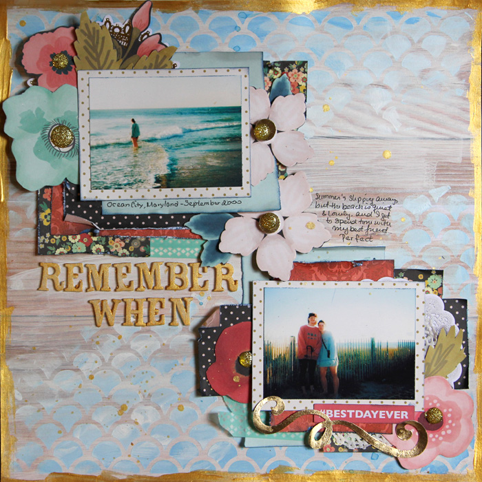 Ideas for Scrapbooking the Ways You Hold Onto Summer | Gretchen Henninger | Get It Scrapped