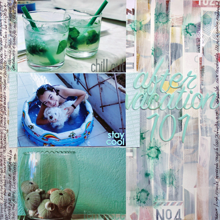 Ideas for Scrapbooking the Ways You Hold Onto Summer | Kiki Kougioumtzi | Get It Scrapped