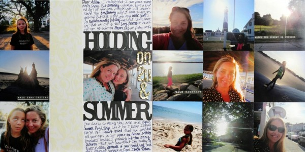 Ideas for Scrapbooking the Ways You Hold Onto Summer | Katie Scott | Get It Scrapped