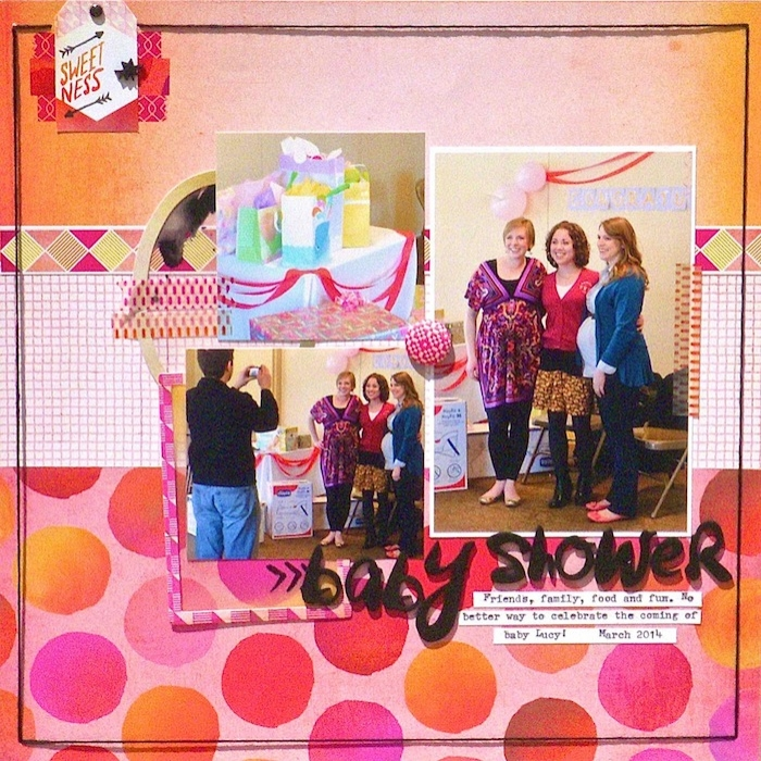 Let Patterned Paper and Color Decide Your Scrapbook Page Story | Sue Althouse | Get It Scrapped