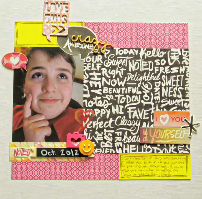 How to Pile New and Trendy Products On Scrapbook Pages and Still Tell A Story | Christy Strickler | Get It Scrapped