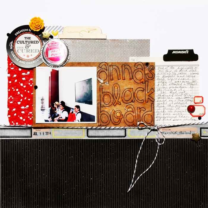 How to Pile New and Trendy Products On Scrapbook Pages and Still Tell A Story | Karen Poirier-Brode | Get It Scrapped