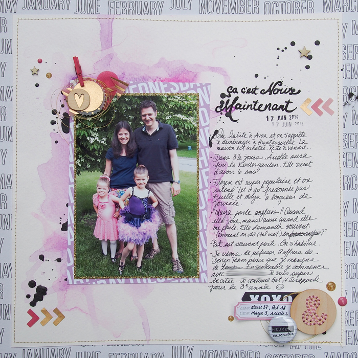 How to Pile New and Trendy Products On Scrapbook Pages and Still Tell A Story |Marie-Pierre Capistran | Get It Scrapped