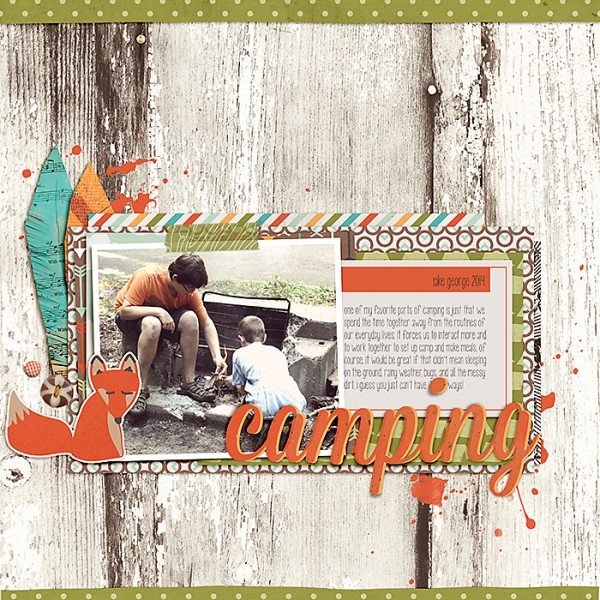Make Scrapbook Sketches & Templates Your Own |Celeste Smith | Get It Scrapped