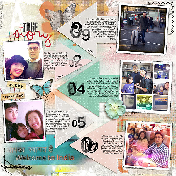 Ideas for Scrapbook Page Storytelling with a Timeline | Audrey Tan | Get It Scrapped