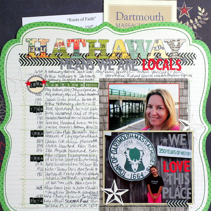Ideas for Scrapbook Page Storytelling with a Timeline | Katie Scott | Get It Scrapped