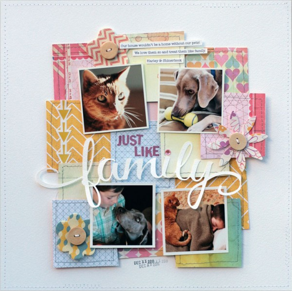 Build Your Own Suite of Favorite Fonts for Scrapbook Page Titles | Lisa Dickinson | Get It Scrapped