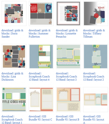 Make Scrapbook Sketches & Templates Your Own |Get It Scrapped