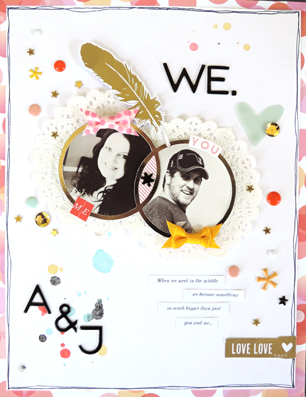 3 Scrapbook Page Stories You Can Tell with a Venn Diagram |Amy Kingsford | Get It Scrapped