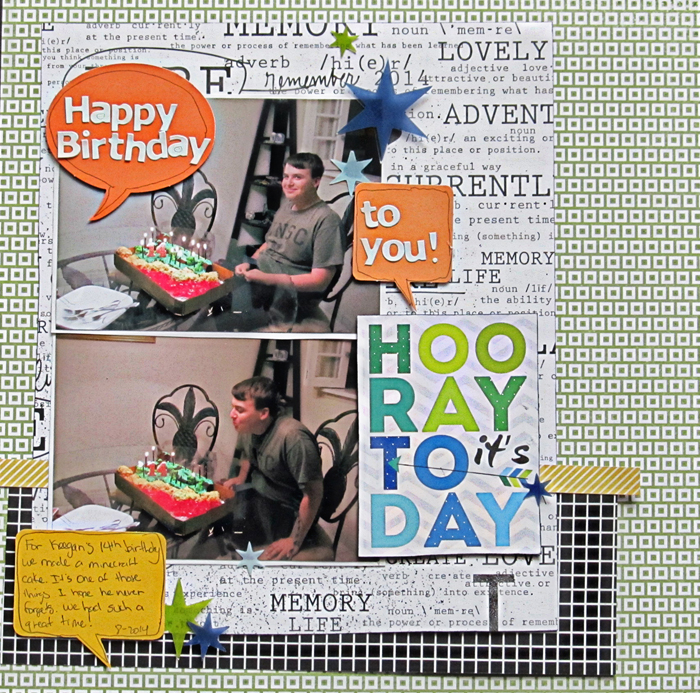 Visual Storytelling on Scrapbook Pages with Character, Setting and Plot | Christy Strickler | Get It Scrapped