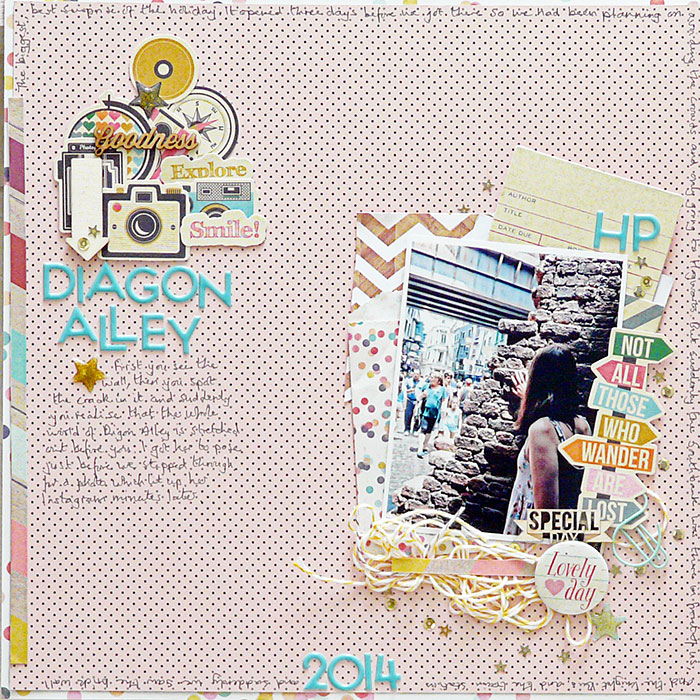 Visual Storytelling on Scrapbook Pages with Character, Setting and Plot | Sian Fair | Get It Scrapped