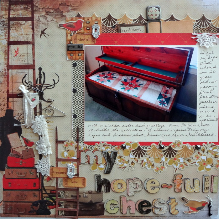 Scrapbook Page Storytelling When Setting is Key | Susanne Brauer | Get It Scrapped