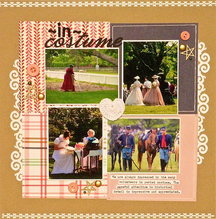 Get Scrapbook Page Ideas from Grid Layout Pins | Sue Althouse | Get It Scrapped