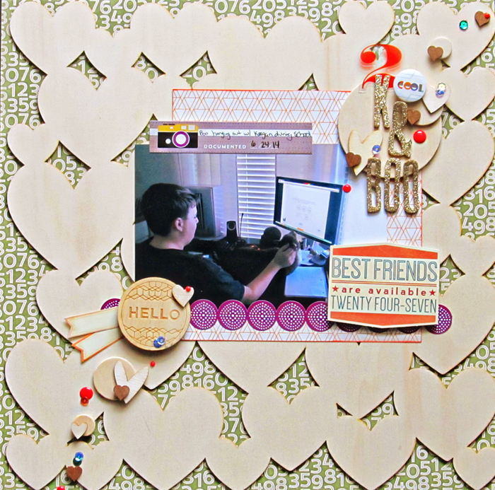 Get Inspired by Stand-Out Product for Your Next Scrapbook Page | Christy Strickler | Get It Scrapped