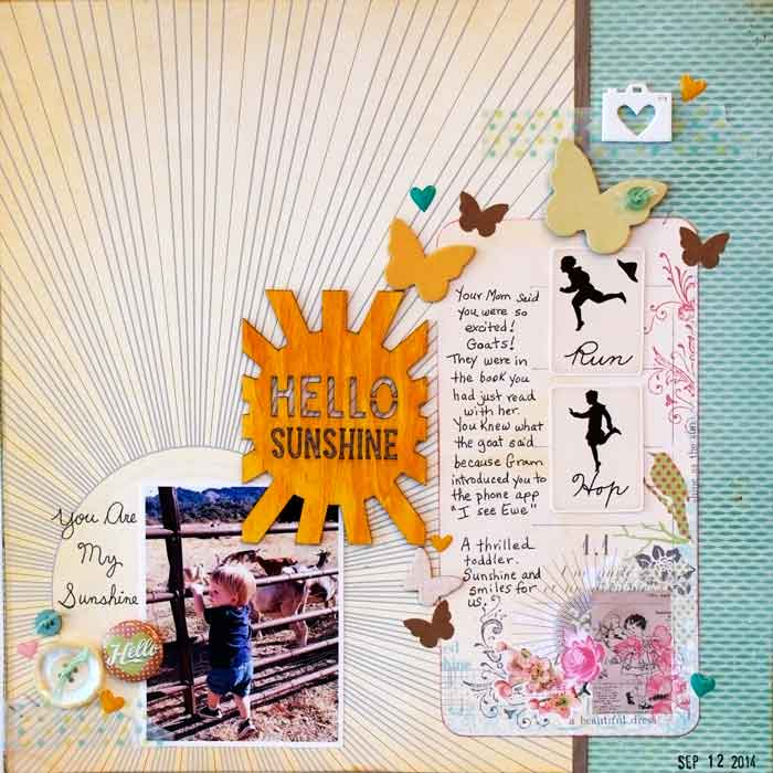 Get Inspired by Stand-Out Product for Your Next Scrapbook Page | Karen Poirier-Brode | Get It Scrapped