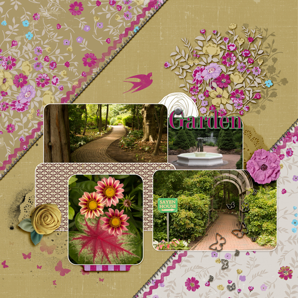 Ideas for Scrapbook Page Embellishing with a Visual Triangle and Visual Hierarchy   Andrea   Get It Scrapped