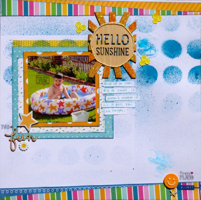 Ideas for Scrapbook Page Embellishing with a Visual Triangle and Visual Hierarchy | Devra Hunt | Get It Scrapped