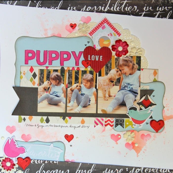 Ideas for Scrapbook Page Embellishing with a Visual Triangle and Visual Hierarchy Gretchen Henninger   Get It Scrapped