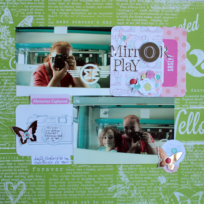 Ideas for Scrapbook Page Embellishing with a Visual Triangle and Visual Hierarchy  Kiki Kougioumtzi| Get It Scrapped