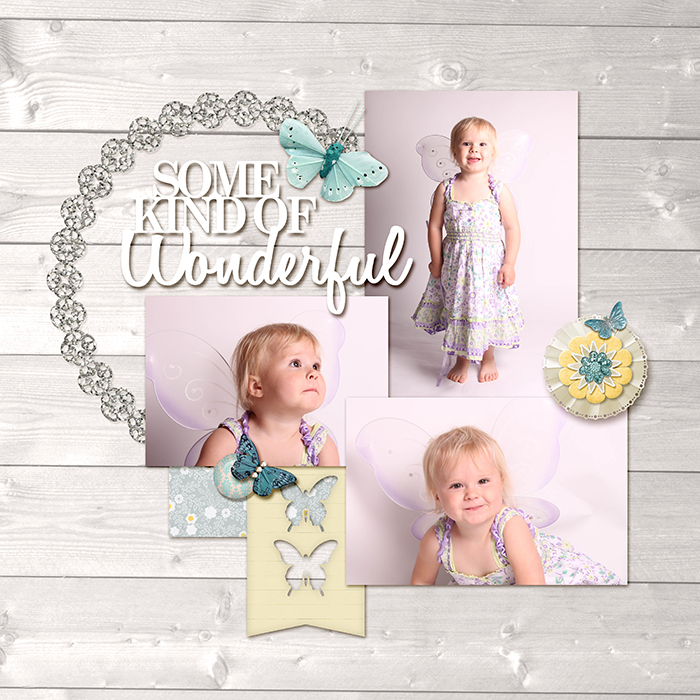 Ideas for Scrapbook Page Embellishing with a Visual Triangle and Visual Hierarchy   Vicki Hibbins   Get It Scrapped