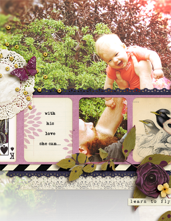 Ideas for Composing Within the Negative Space of Your Die Cuts  | Amy Kingsford | Get It Scrapped
