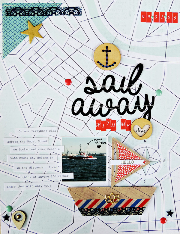 Get Inspired by Stand-Out Product for Your Next Scrapbook Page | Amy Kingsford | Get It Scrapped