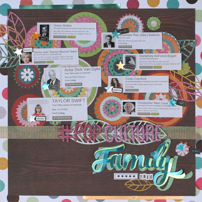 Ideas for Scrapbook Page Storytelling with the Family Tree Motif | Katie Scott | Get It Scrapped