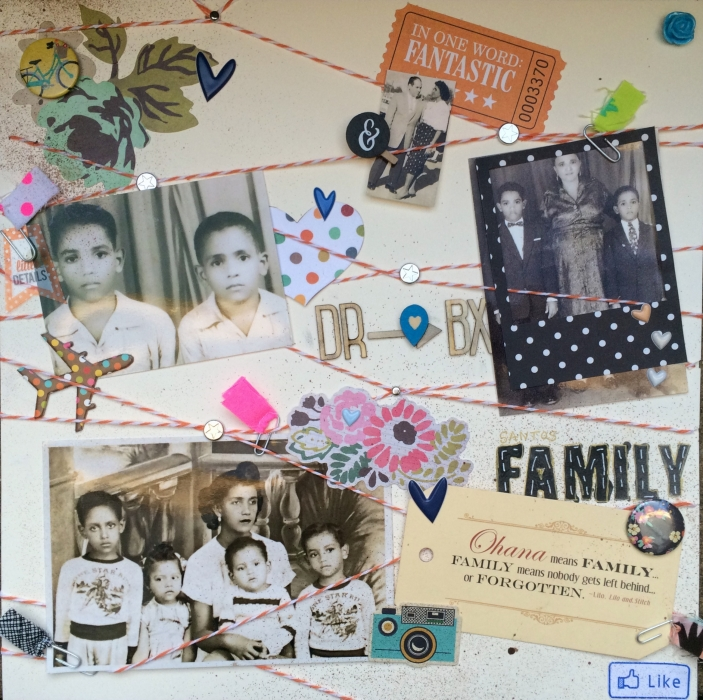 Ideas for Scrapbook Page Storytelling with the Family Tree Motif | Rosann Santos-Elliott | Get It Scrapped