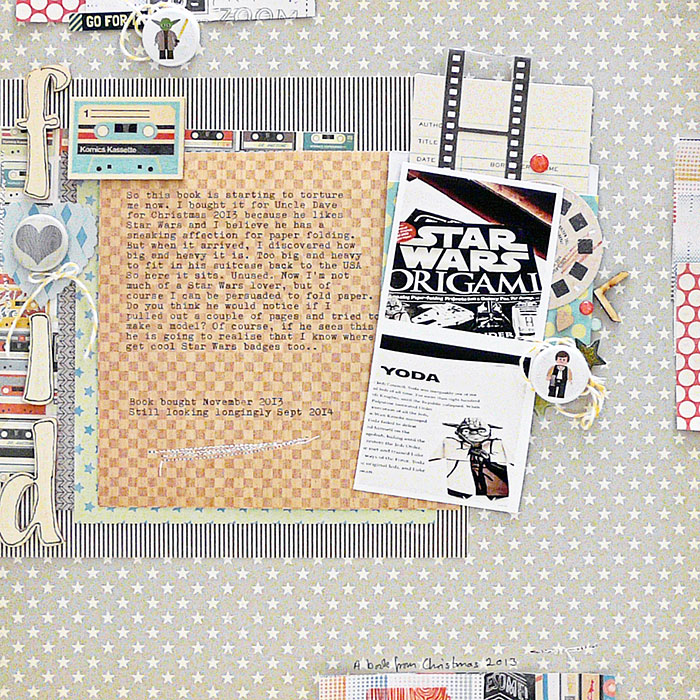 Start Your Next Scrapbook Page Here | Page Prompts No. 1 | Sian Fair | Get It Scrapped