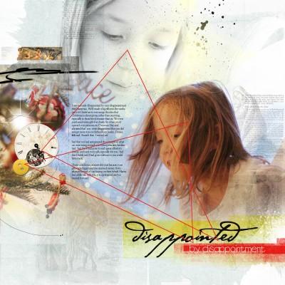 Design Principles at Work on Artsy Digital Scrapbook Pages | Anna Aspnes | Get It Scrapped