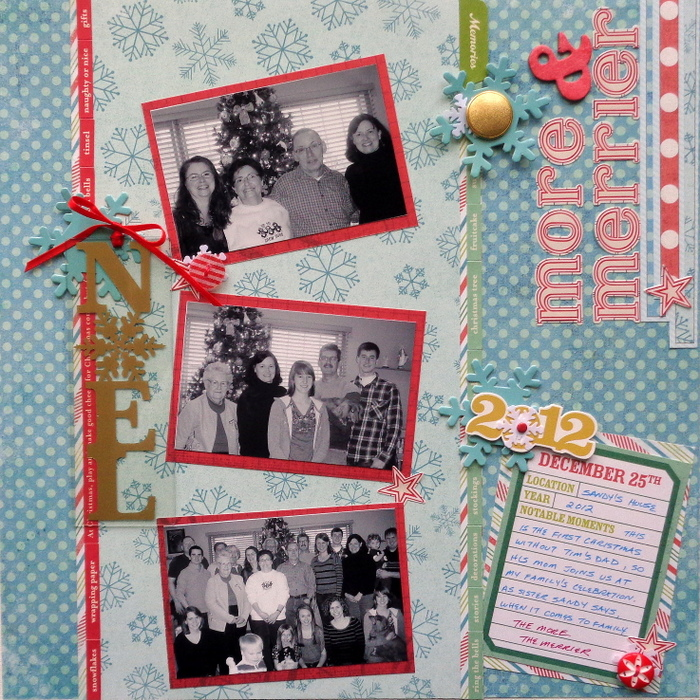 Ideas for Scrapbooking Christmas Pages with Your Stash | Susanne Brauer | Get It Scrapped