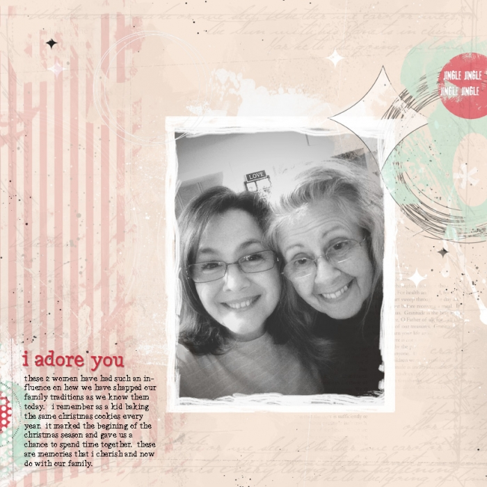 Ideas for Telling Scrapbook Page Stories about Your Holiday Mentors | Summer Christiansen | Get It Scrapped