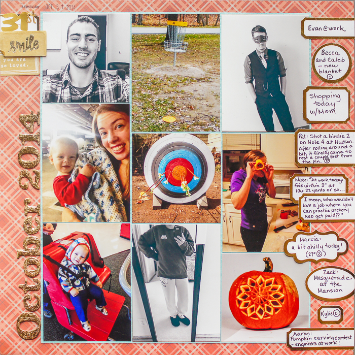 Start Your Next Scrapbook Page Here | Page Prompts No. 2 | Marcia Fortunato | Get It Scrapped