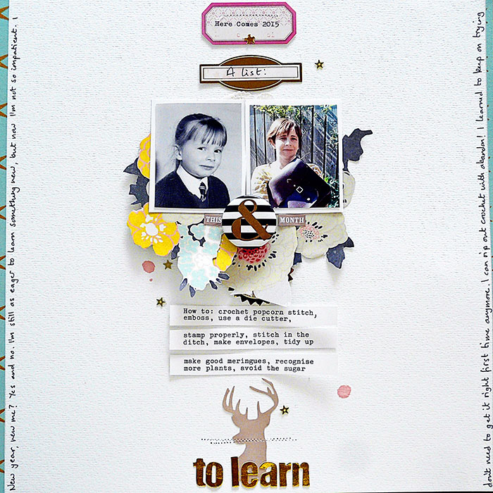 Start Your Next Scrapbook Page Here | Page Prompts No. 2 | Sian Fair | Get It Scrapped