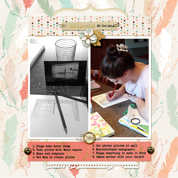 Start Your Next Scrapbook Page Here | Page Prompts No. 2 | Stefanie Semple | Get It Scrapped