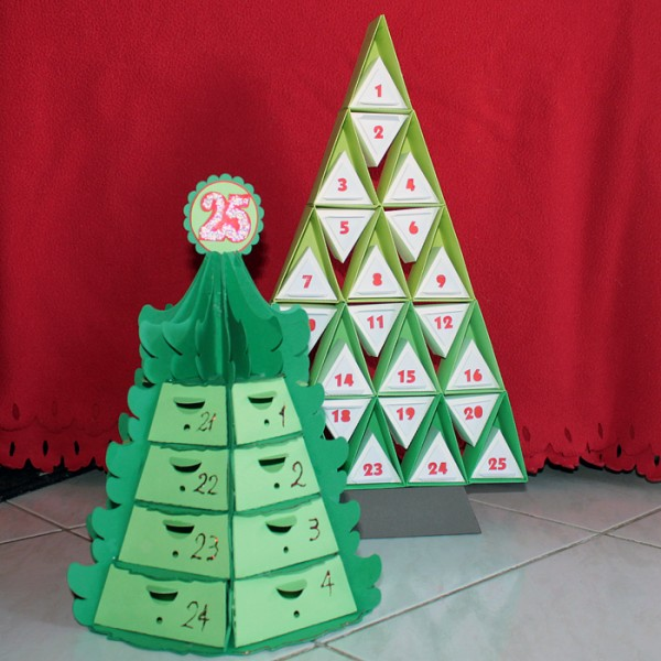 Ideas for Making Holiday Decorations with Your Silhouette Die Cut Machine | Kiki Kougioumtzi | Get It Scrapped