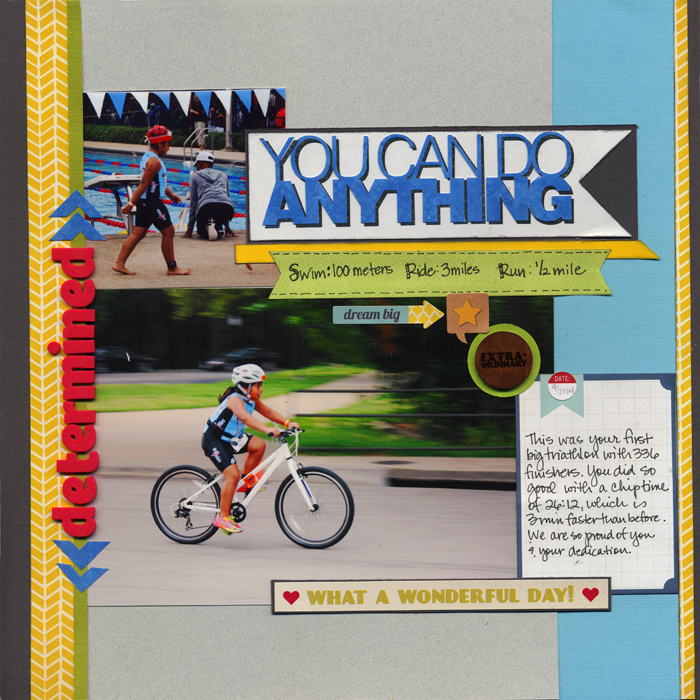 Scrapbook Page Sketch and Layered Template #98 | Jett Hampton | Get It Scrapped