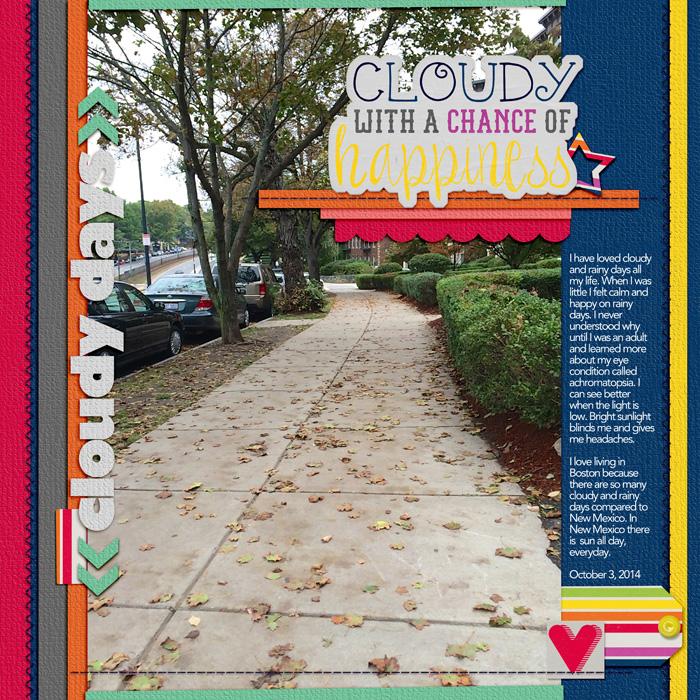 Scrapbook Page Sketch and Layered Template #98 | Jennifer Kellogg | Get It Scrapped