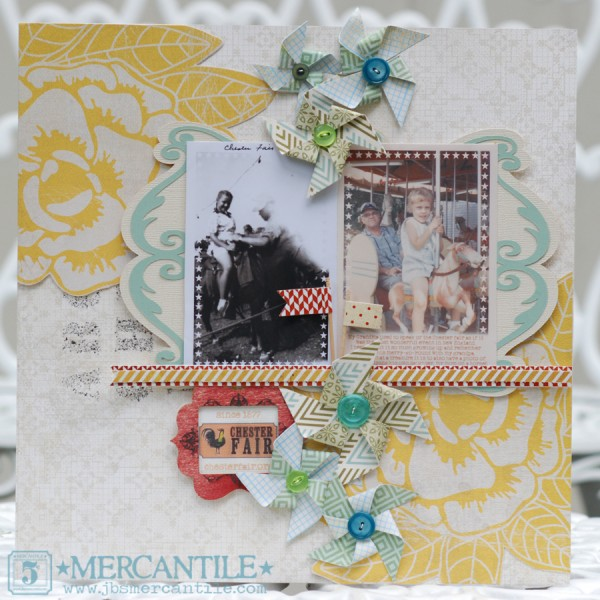 3 Color Scheme Approaches for Scrapbooking Heritage Photos | Article by Doris Sander | Layout by Betsy Sammarco | Get It Scrapped