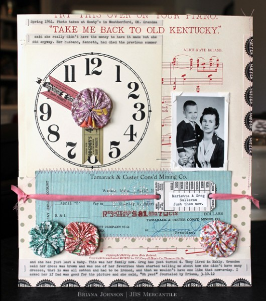 3 Color Scheme Approaches for Scrapbooking Heritage Photos | Article by Doris Sander | Layout by Brianna Johnson | Get It Scrapped