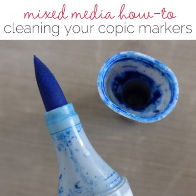 Mixed Media with Michelle Houghton | Cleaning Your Copics | Get It Scrapped