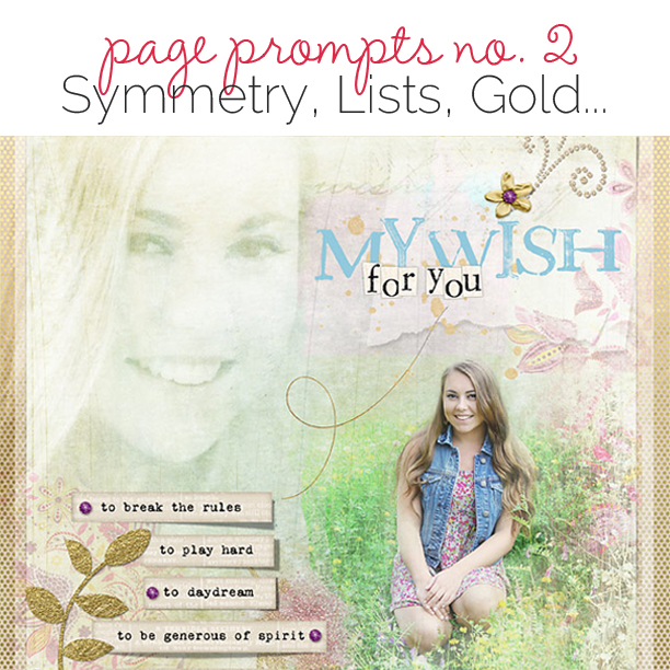 Start Your Next Scrapbook Page Here | Page Prompts No. 2 | Get It Scrapped