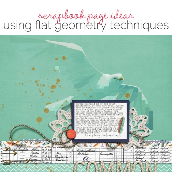 Paper and Digital Techniques for Making Your Own Flat Geometric Elements | Get It Scrapped