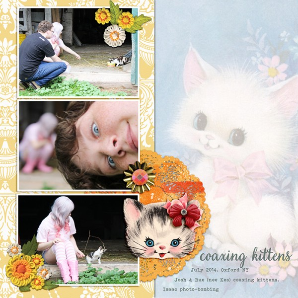 Ideas for Using a Kitsch Style for Your Scrapbook Page Story  | Debbie Hodge | Get It Scrapped