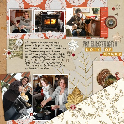 Scrapbook Page Starter: Arrange Your Page Elements Using a Sprawl Approach | Debbie Hodge | Get It Scrapped