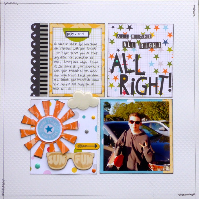 """Ideas for Including Trendy """"Easter Eggs"""" into Your Scrapbook Page Storytelling 